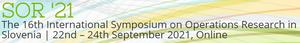 16. mednarodni simpozij SOR'21